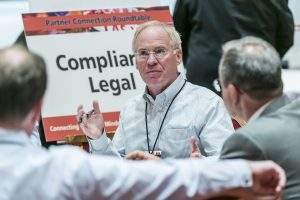 Guy Messick leads discussion on compliance
