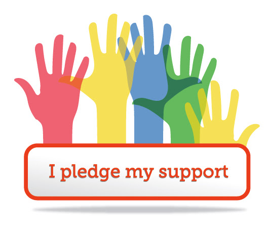 Button-Advocacy Pledge