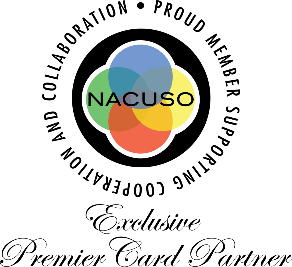 NACUSO - Mastercard - Exclusive Premier Card Partner Logo